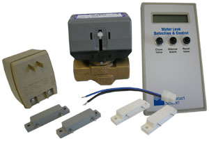 FloodStopper multi-zone water leak detection system